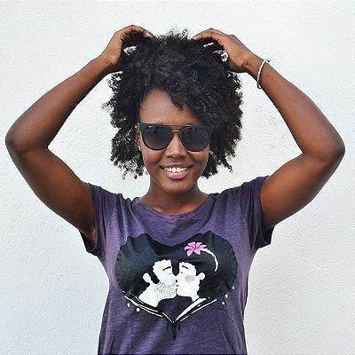 Camiseta Feminina Black Love