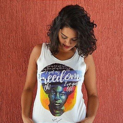 Camiseta Feminina Nina Simone