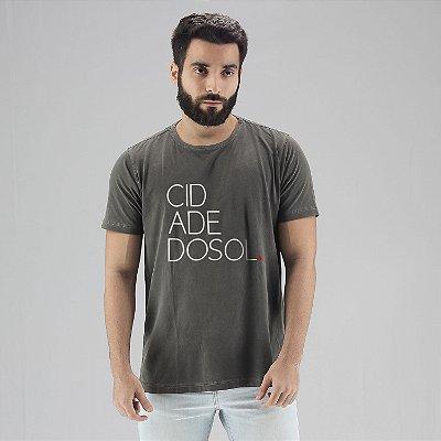 Camiseta Estonada Cidade do Sol Chumbo