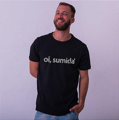 Camiseta Oi Sumida Preta