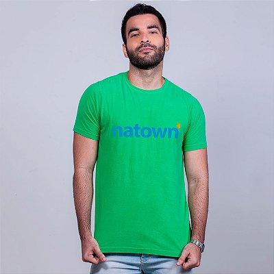 Camiseta Estonada Natown Verde