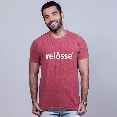 Camiseta Estonada Reiôsse Goiaba