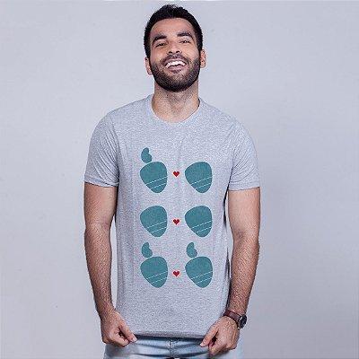 Camiseta Amor Sem Etiqueta Mescla