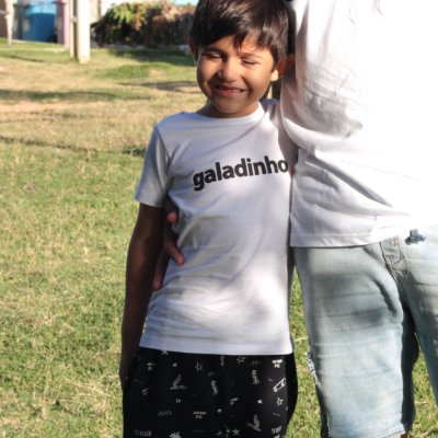 Camiseta Infantil Galadinho Branca