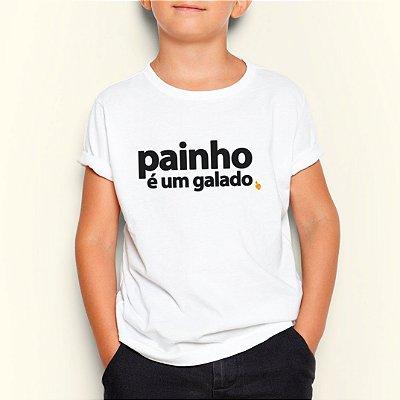 Camiseta Infantil Painho é um Galado