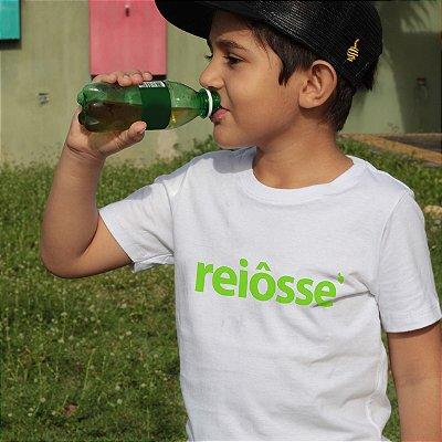 Camiseta Infantil Reiosse Branca