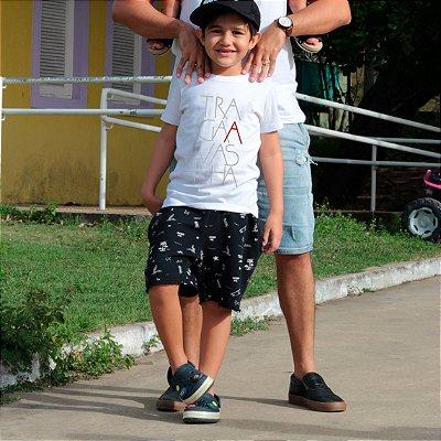 Camiseta Infantil Traga A Vasilha Branca