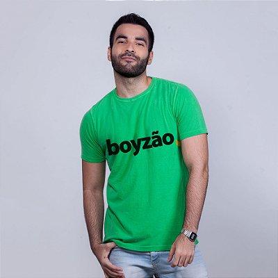 Camiseta Estonada Boyzão Verde