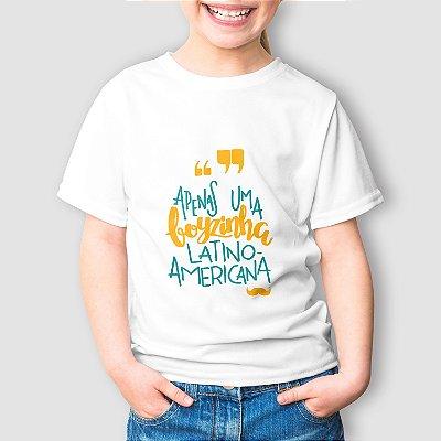 Camiseta Infantil Latino Americana