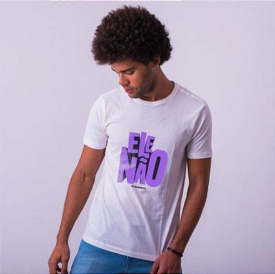 Camiseta Ele Não Umazarte Branca