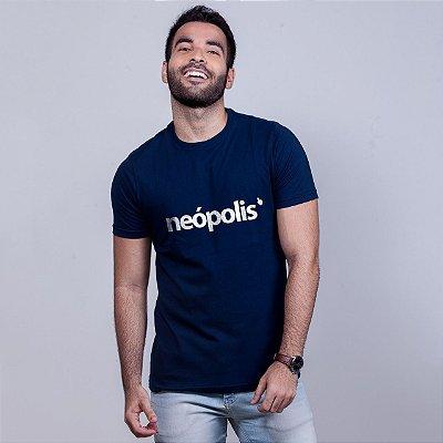Camiseta Neópolis Azul Marinho