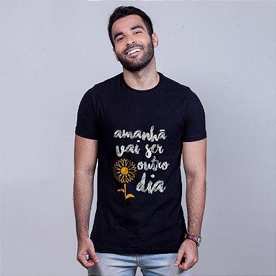 Camiseta Apesar de Você Preta Amandrafts
