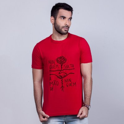 Camiseta Ninguém Solta Vermelha