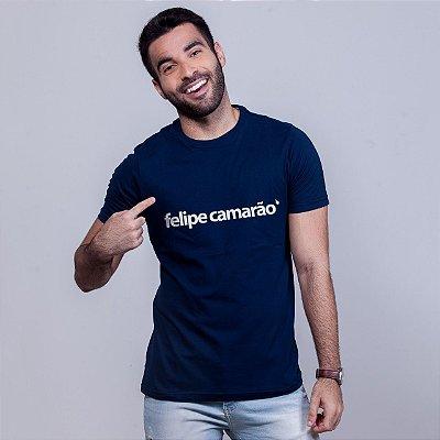 Camiseta Felipe Camarão Azul Marinho