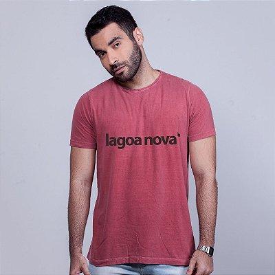 Camiseta Estonada Lagoa Nova Goiaba