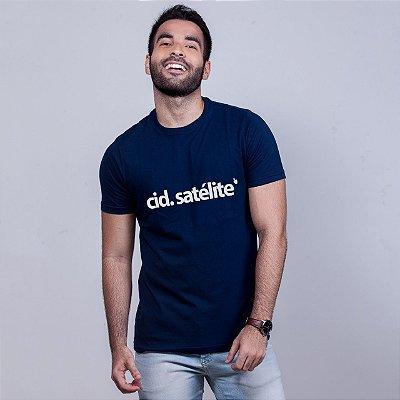 Camiseta Cidade Satélite Azul Marinho