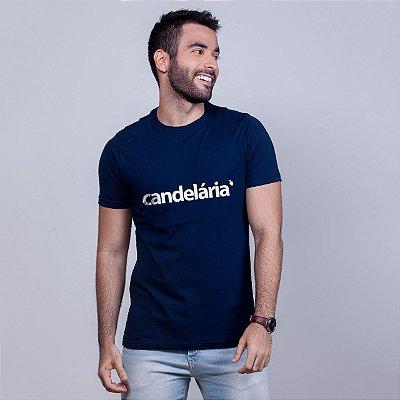 Camiseta Candelária Azul Marinho