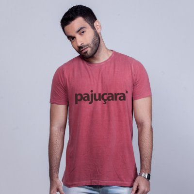 Camiseta Estonada Pajuçara Goiaba