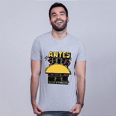 Camiseta Antes Samba Mescla