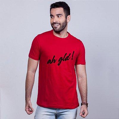 Camiseta Ah gld Vermelha