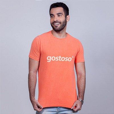 Camiseta Estonada Gostoso Laranja