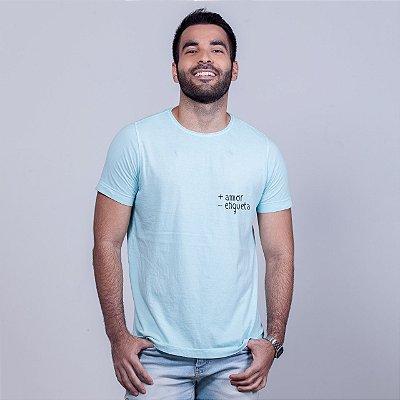 Camiseta Estonada + Amor Azul