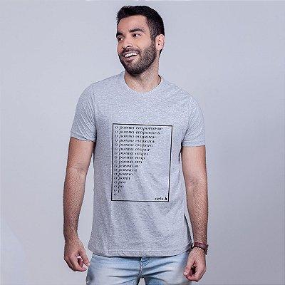 Camiseta Poema Carito Mescla