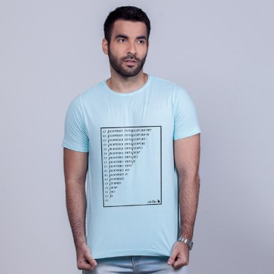 Camiseta Estonada Poema Carito Azul
