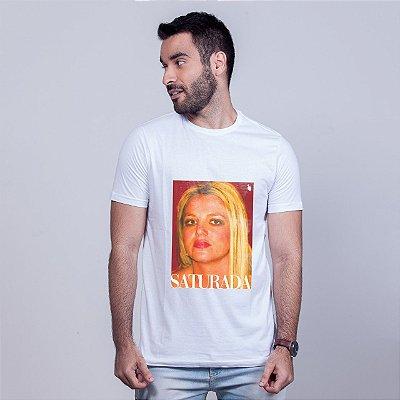 Camiseta Saturada Branca