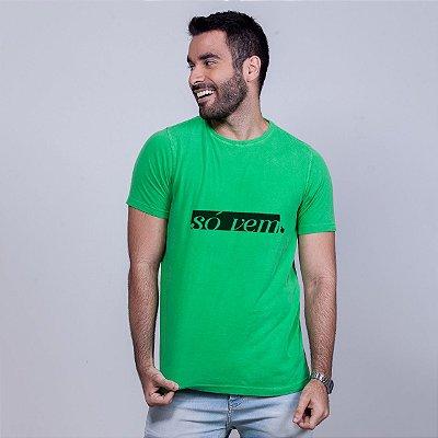 Camiseta Estonada Só Vem Verde