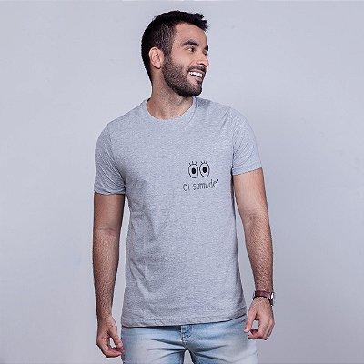 Camiseta Oi Sumido Mescla