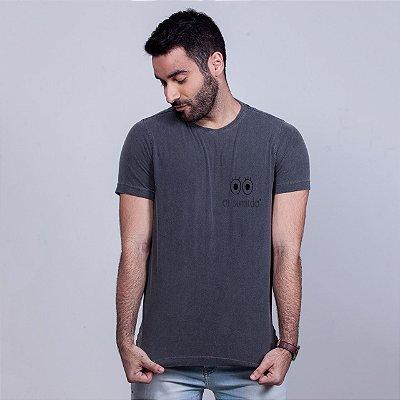 Camiseta Estonada Oi Sumido Chumbo