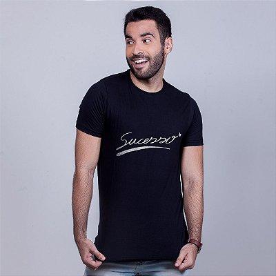 Camiseta Sucesso Preta