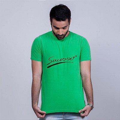 Camiseta Estonada Sucesso Verde