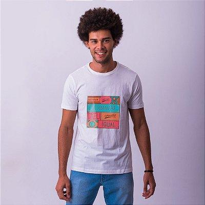 Camiseta Carne e Carnaval 2019 Branca