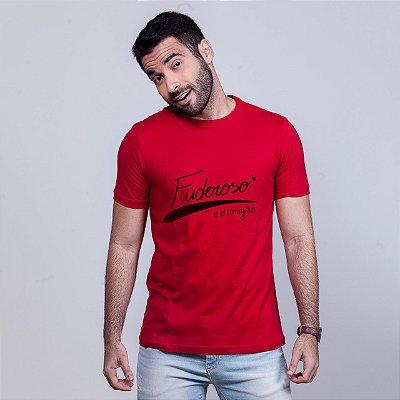 Camiseta Fuderoso é o Magão Vermelha