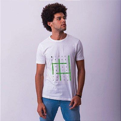 Camiseta Caça Palavras Caicó Branca