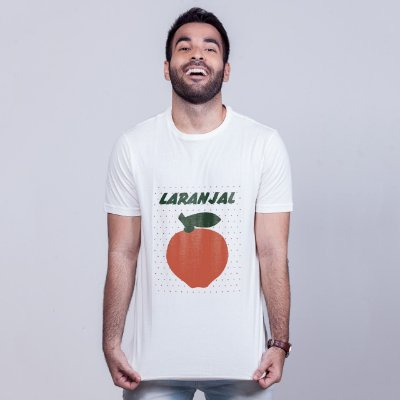 Camiseta Laranjal Branca
