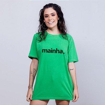 Camiseta Estonada Mainha Verde