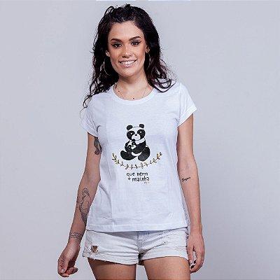 Babylong Que Nem Mainha Panda Branca