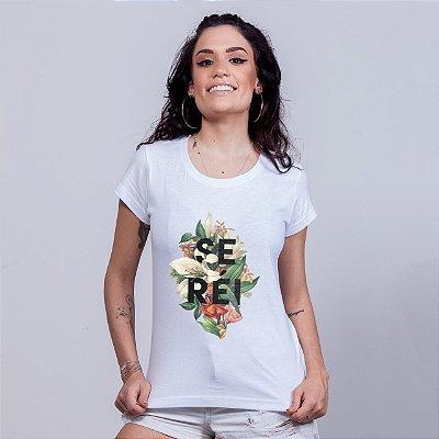 Babylong Se Réi Floral Branca Amandrafts