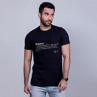 Camiseta Dracarys Preta