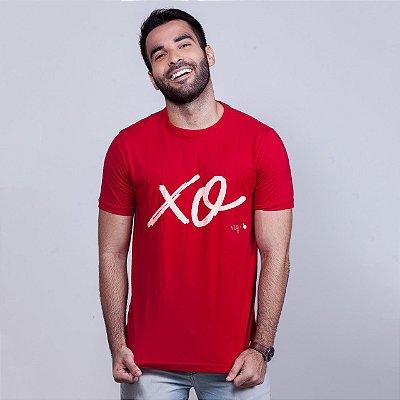 Camiseta Xo Vermelha