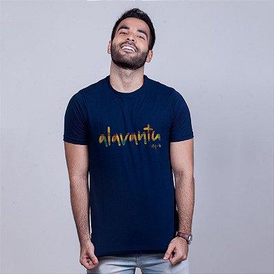 Camiseta Alavantu Azul Marinho