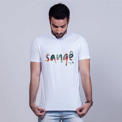 Camiseta Sangê Branca