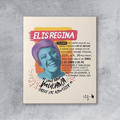 Quadro Elis Regina