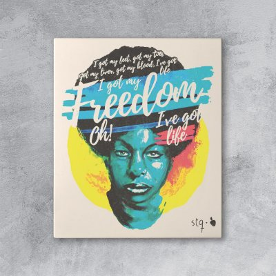 Quadro Nina Simone