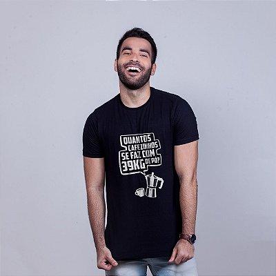 Camiseta 39kg Preta Amandrafts