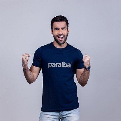 Camiseta Paraíba Azul Marinho