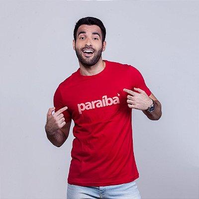 Camiseta Paraíba Vermelha